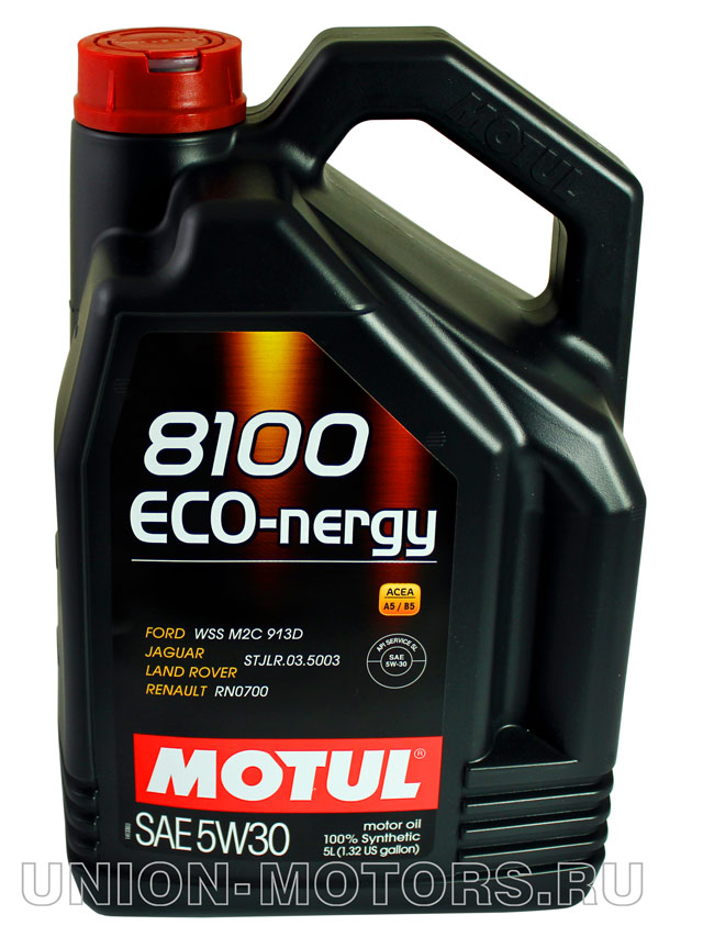 Масломоторное Motul 8100Eco-nergy 5W-30 канистра5 л