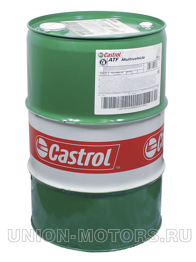Масло для АКПП Castrol ATF Multivehicle бочка